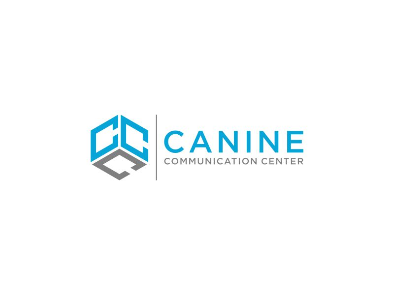 Canine Communication Center - you can check out the website at www.thewineglassranch.com logo design by mukleyRx