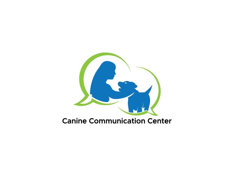 Canine Communication Center - you can check out the website at www.thewineglassranch.com logo design by Herisangkeh