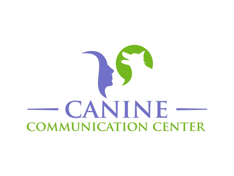 Canine Communication Center - you can check out the website at www.thewineglassranch.com logo design by ingepro