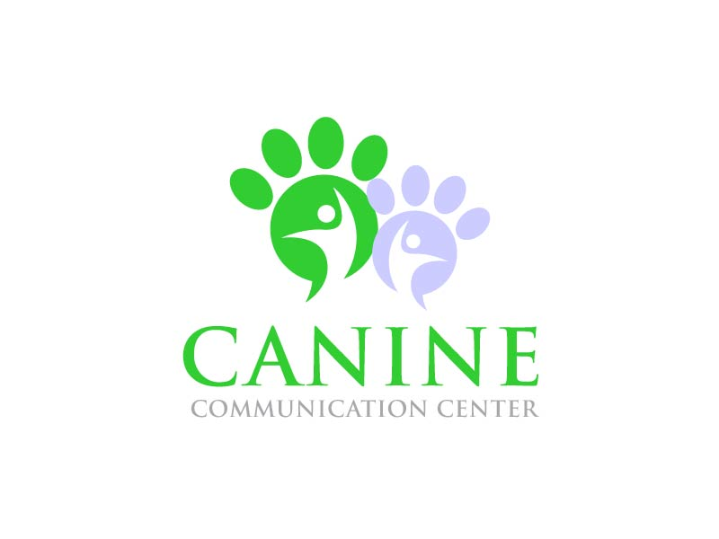 Canine Communication Center - you can check out the website at www.thewineglassranch.com logo design by usef44