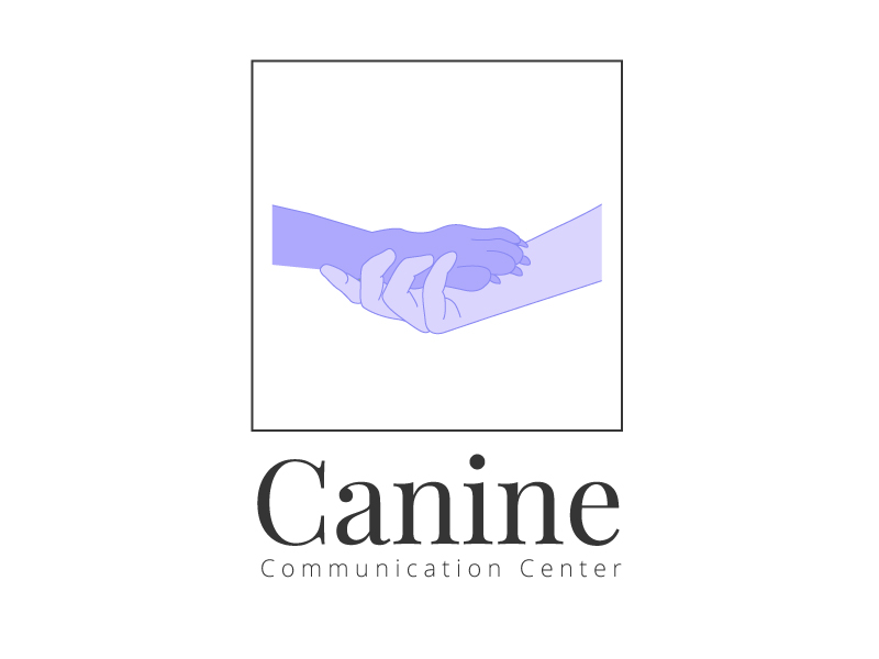 Canine Communication Center - you can check out the website at www.thewineglassranch.com logo design by Leonardo Graphics
