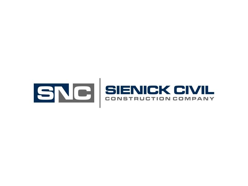 Sienick Civil Construction Company Logo Design