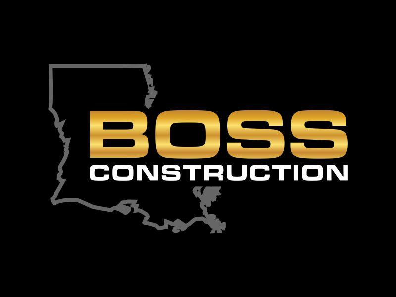 Boss Construction logo design by Franky.