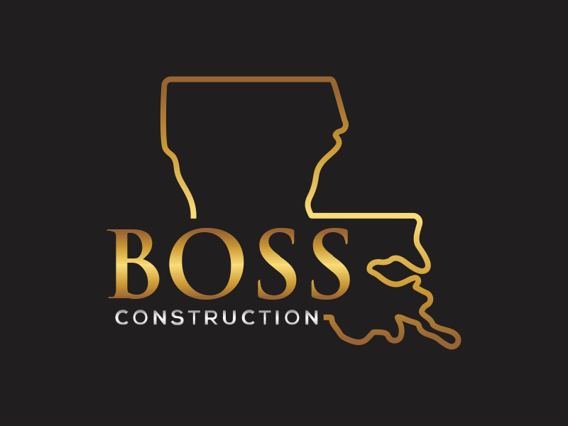 Boss Construction Logo Design