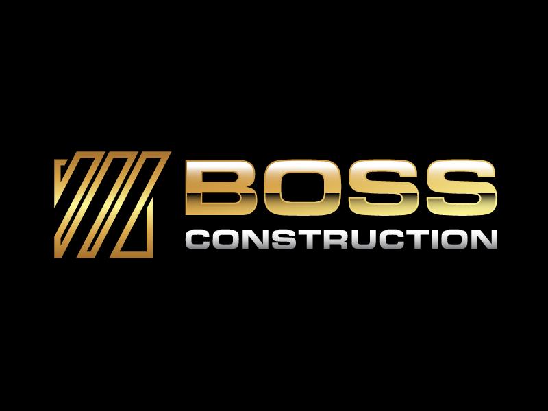 Boss Construction logo design by PRN123