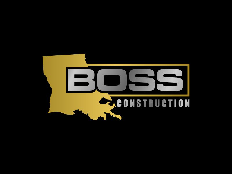Boss Construction logo design by Purwoko21