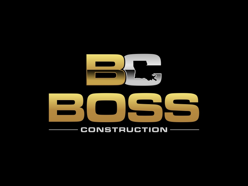 Boss Construction logo design by luckyprasetyo