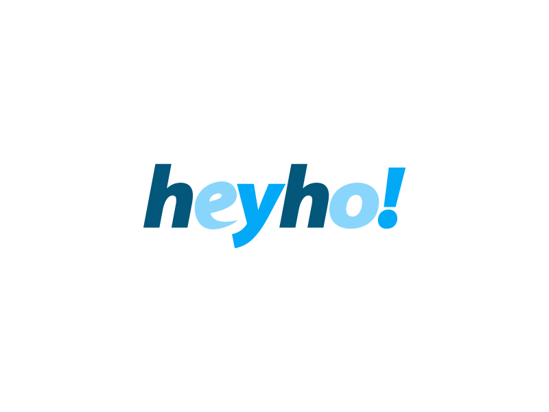 HeyHo! logo design by MUSANG