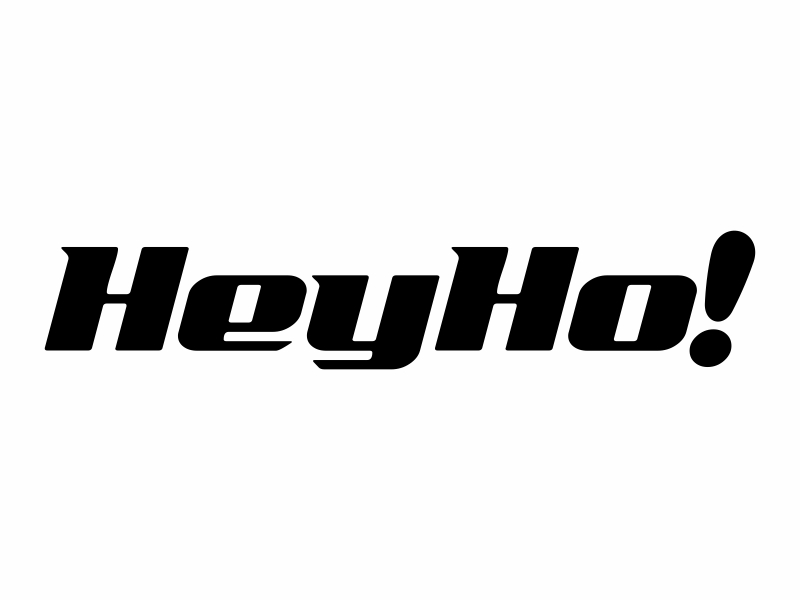 HeyHo! logo design by FriZign