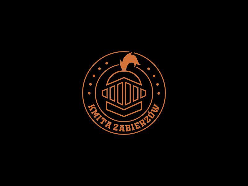 Kmita Zabierzów logo design by hopee