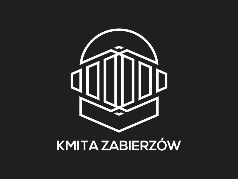 Kmita Zabierzów logo design by rokenrol
