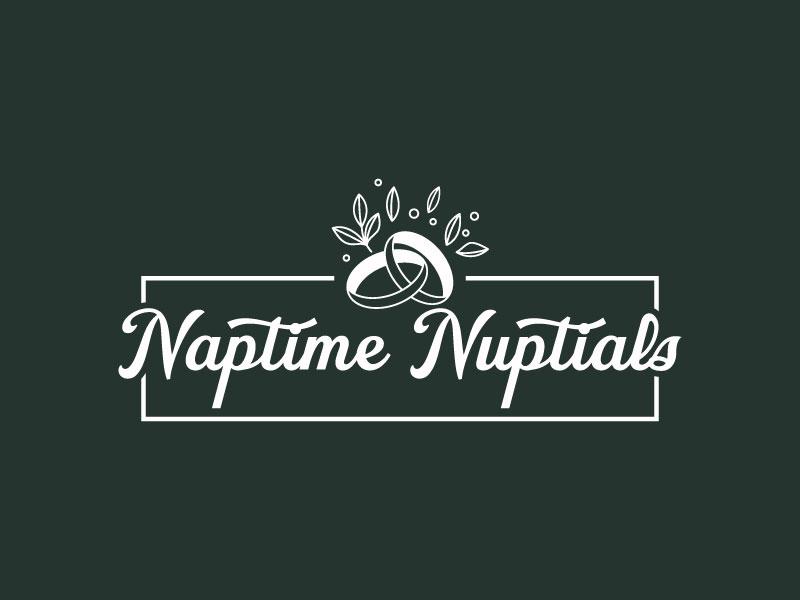 Naptime Nuptials Logo Design