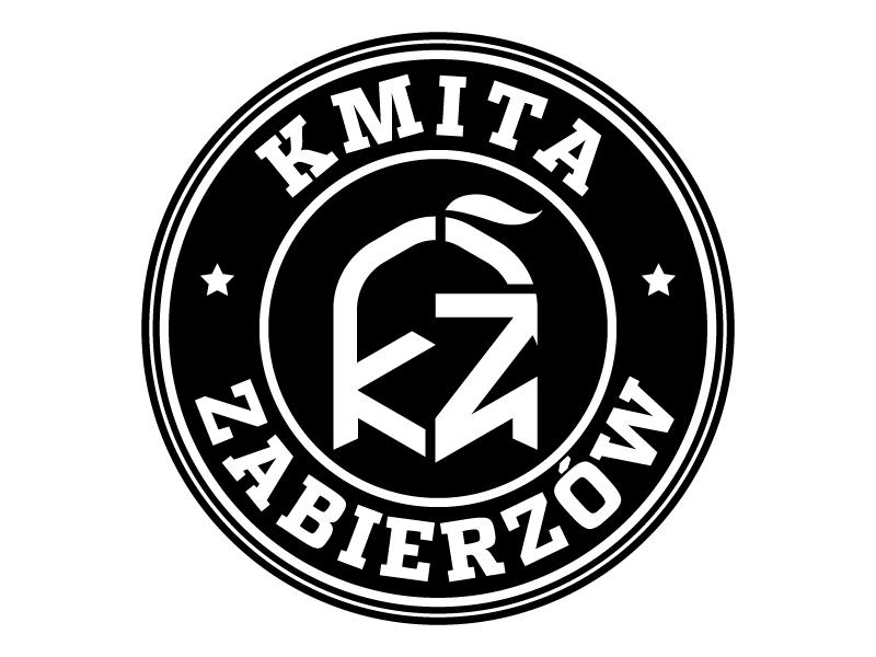 Kmita Zabierzów logo design by MUSANG