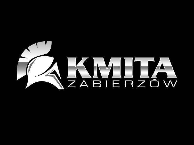 Kmita Zabierzów logo design by kunejo