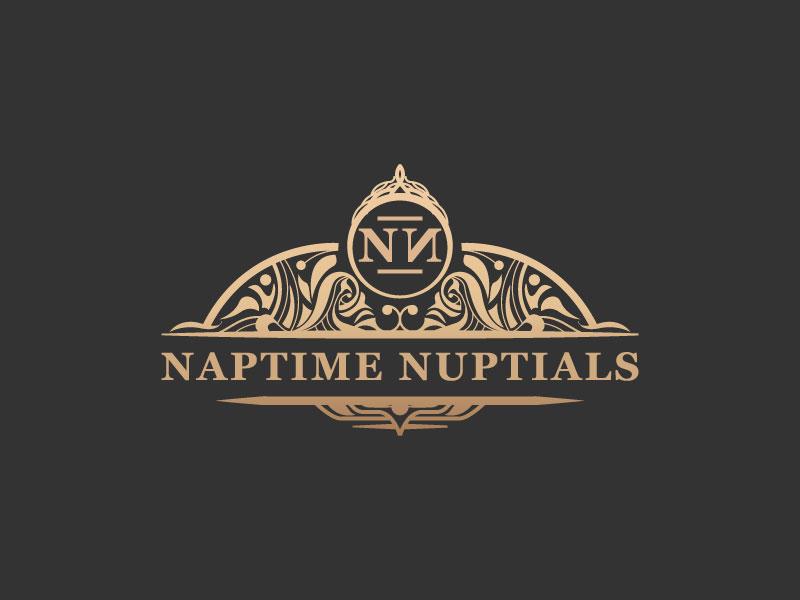 Naptime Nuptials logo design by andrebbara