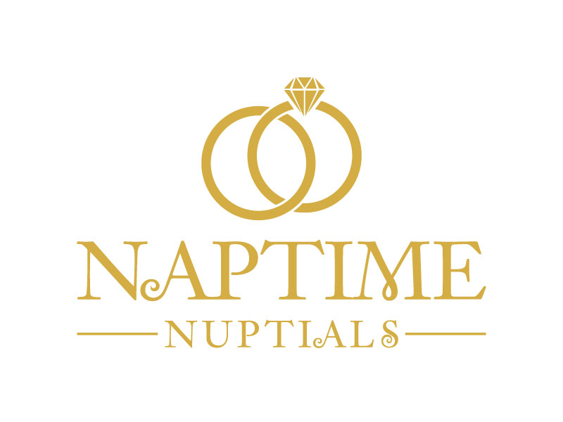 Naptime Nuptials logo design by aryamaity
