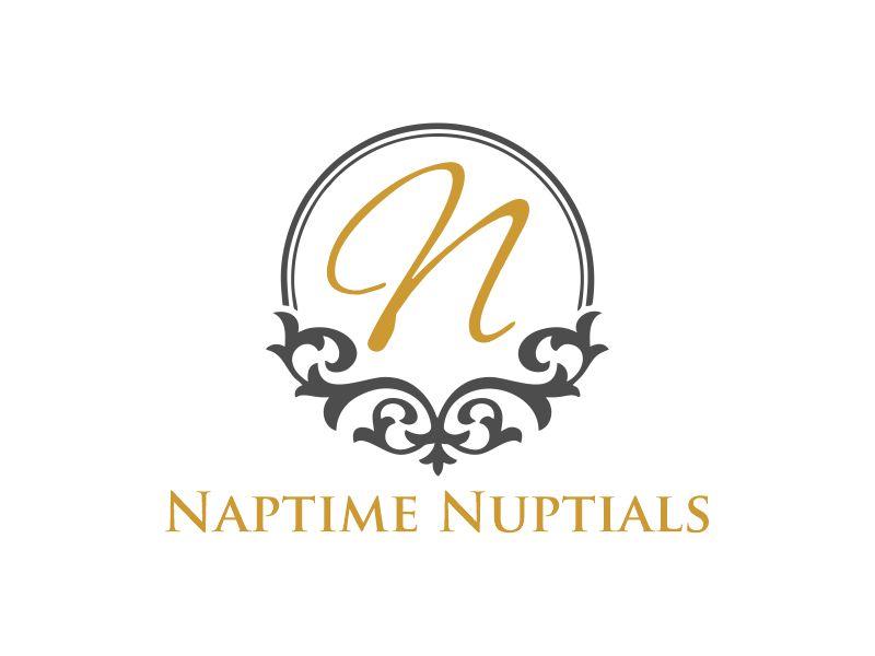 Naptime Nuptials logo design by Gwerth