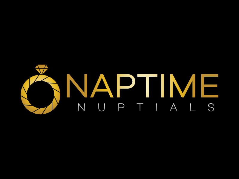 Naptime Nuptials logo design by Kirito