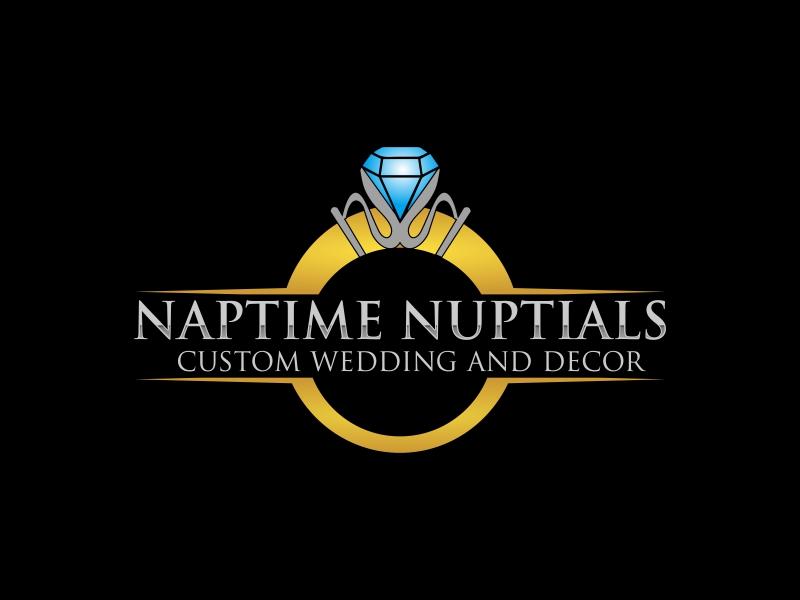 Naptime Nuptials logo design by stark