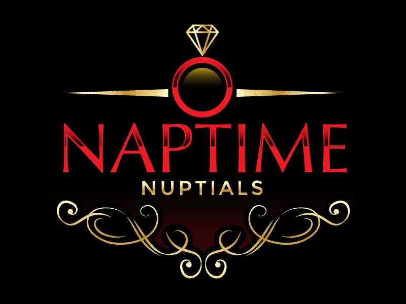 Naptime Nuptials logo design by czars