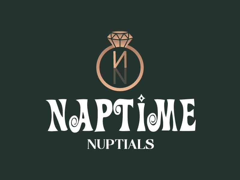 Naptime Nuptials logo design by Saraswati