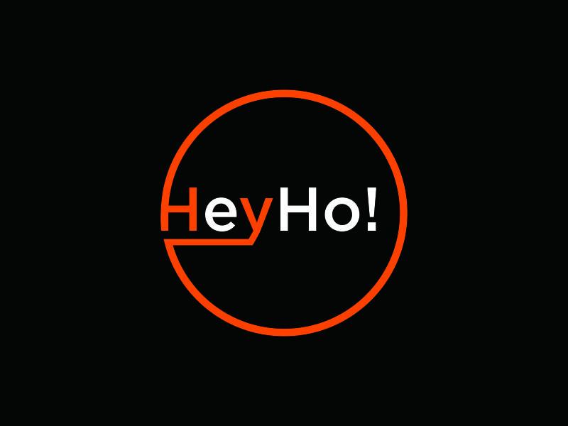 HeyHo! logo design by azizah