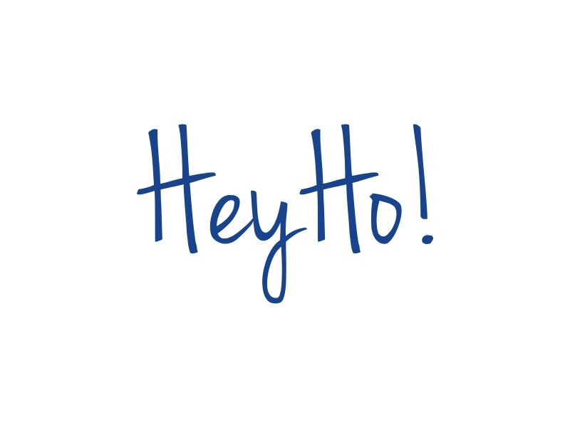 HeyHo! logo design by dibyo