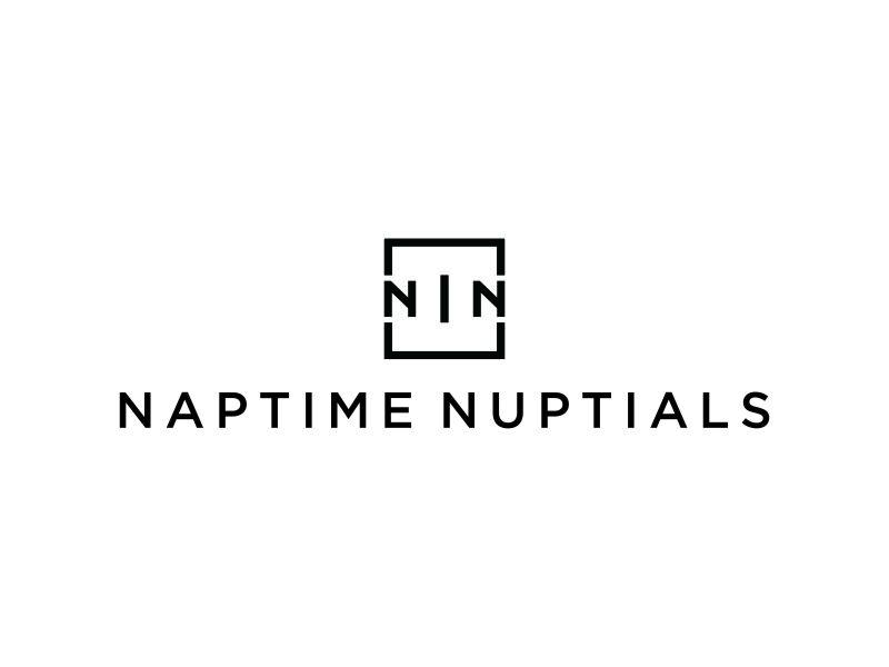 Naptime Nuptials logo design by DuckOn