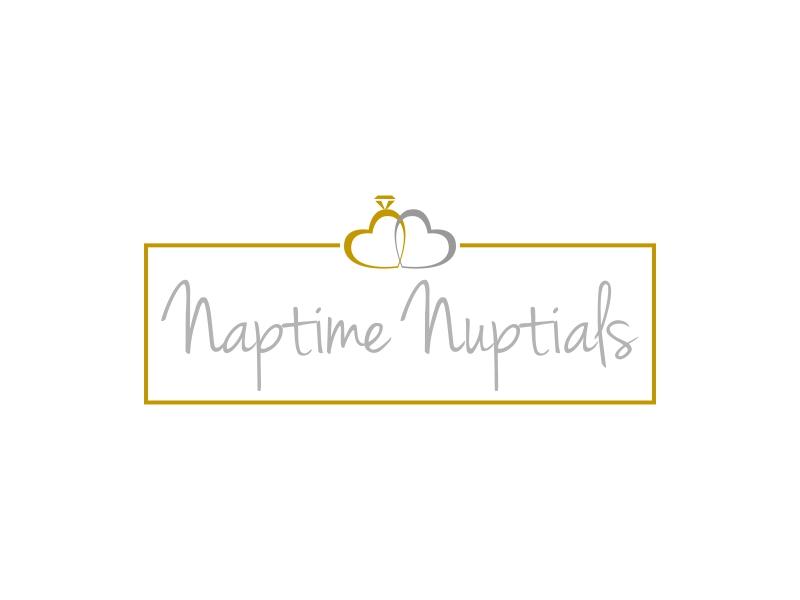 Naptime Nuptials logo design by luckyprasetyo