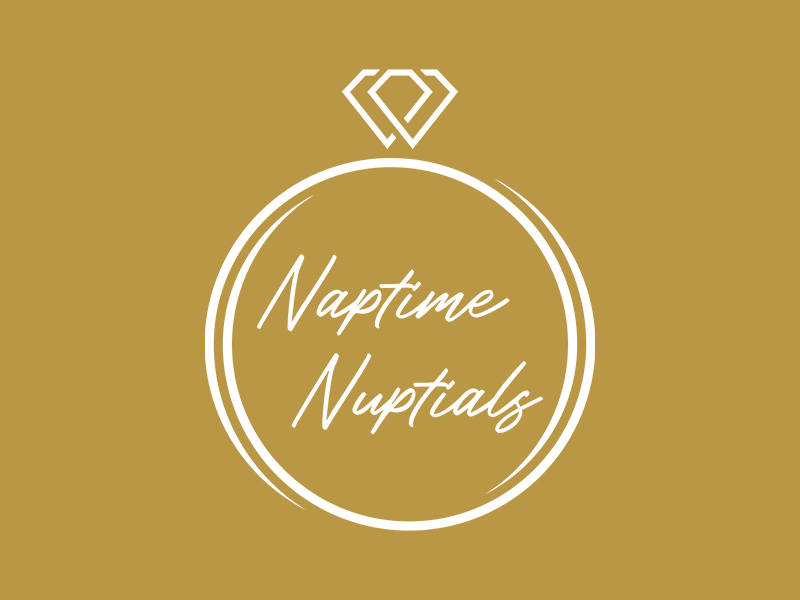 Naptime Nuptials logo design by planoLOGO