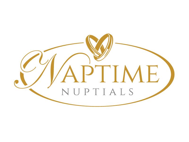 Naptime Nuptials logo design by jaize