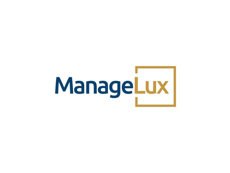 ManageLux logo design by zakdesign700