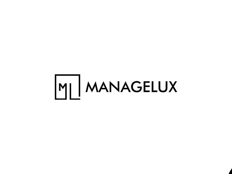 ManageLux logo design by DanizmaArt