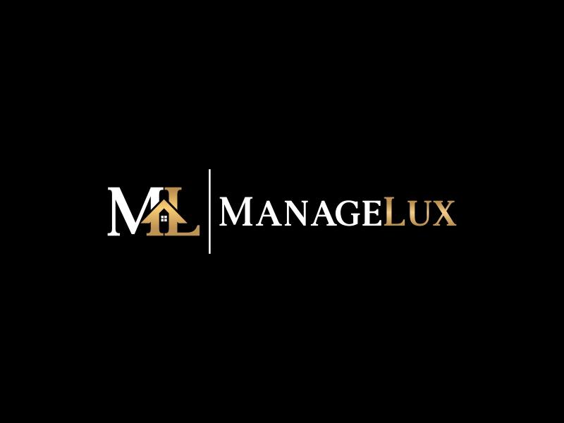 ManageLux logo design by Editor