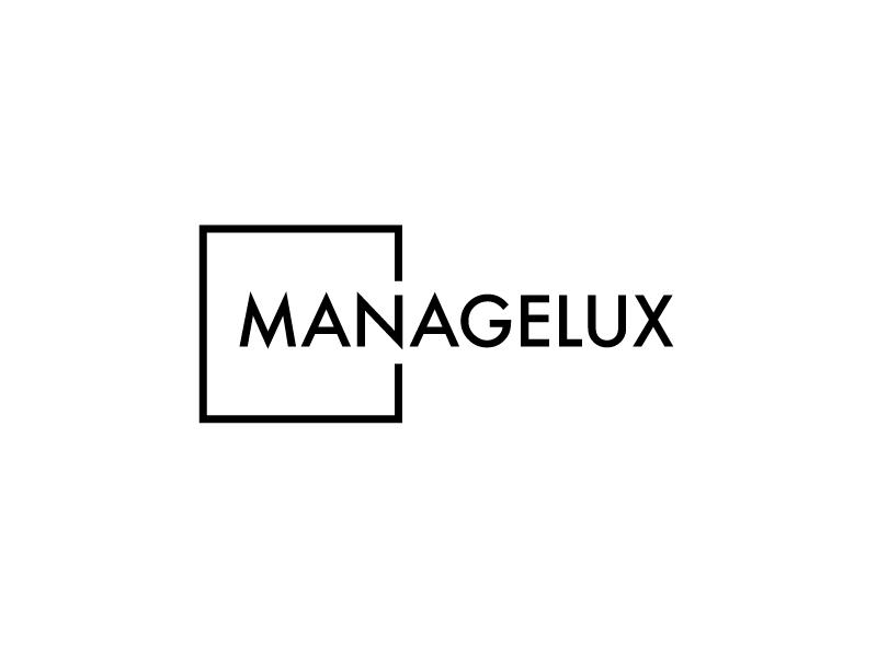 ManageLux logo design by PRN123