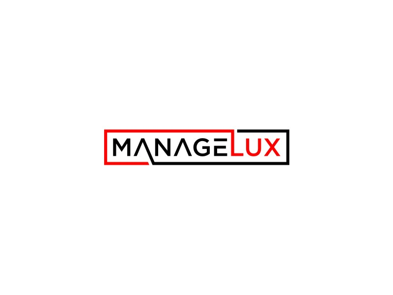 ManageLux logo design by alby