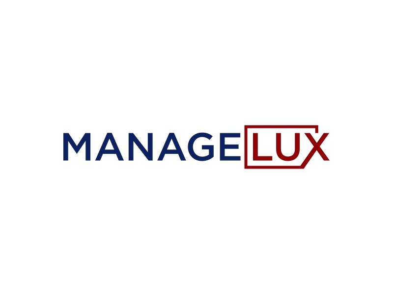 ManageLux logo design by luckyprasetyo