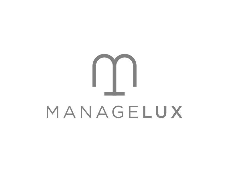 ManageLux logo design by DuckOn