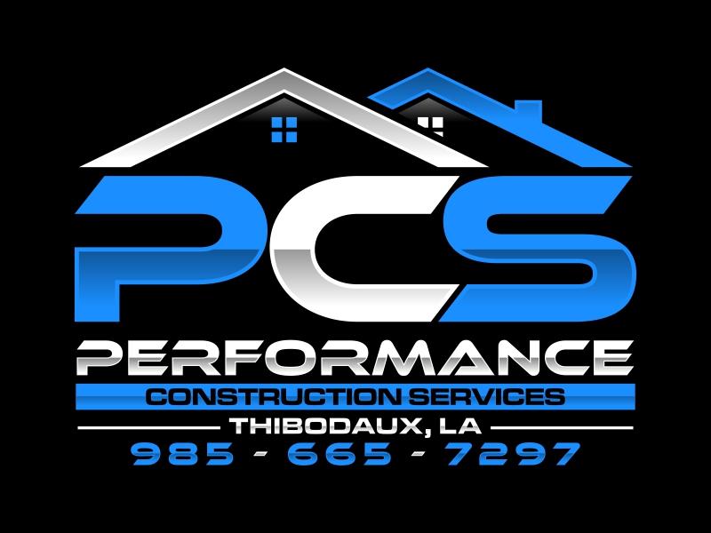 Performance Construction Services Logo Design